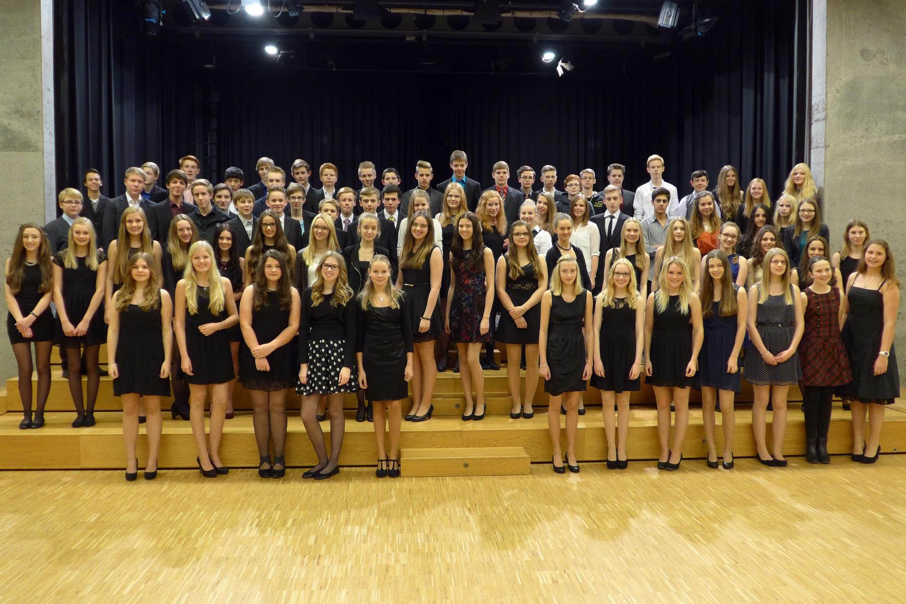 Schülerinnen und Schüler des AMG in der Oper