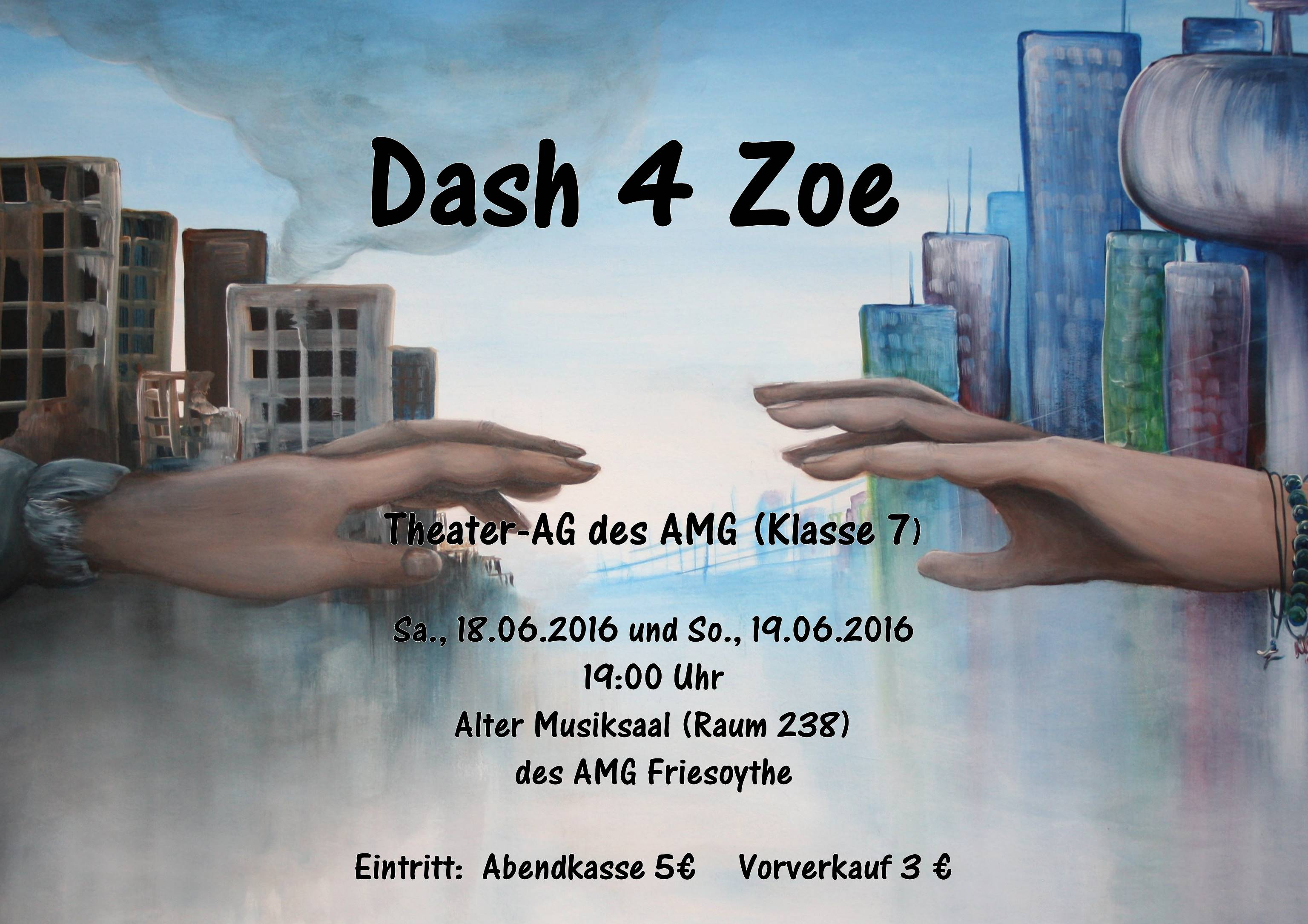 """Siebtklässler des AMGs spielen """"Dash 4 Zoe"""""""