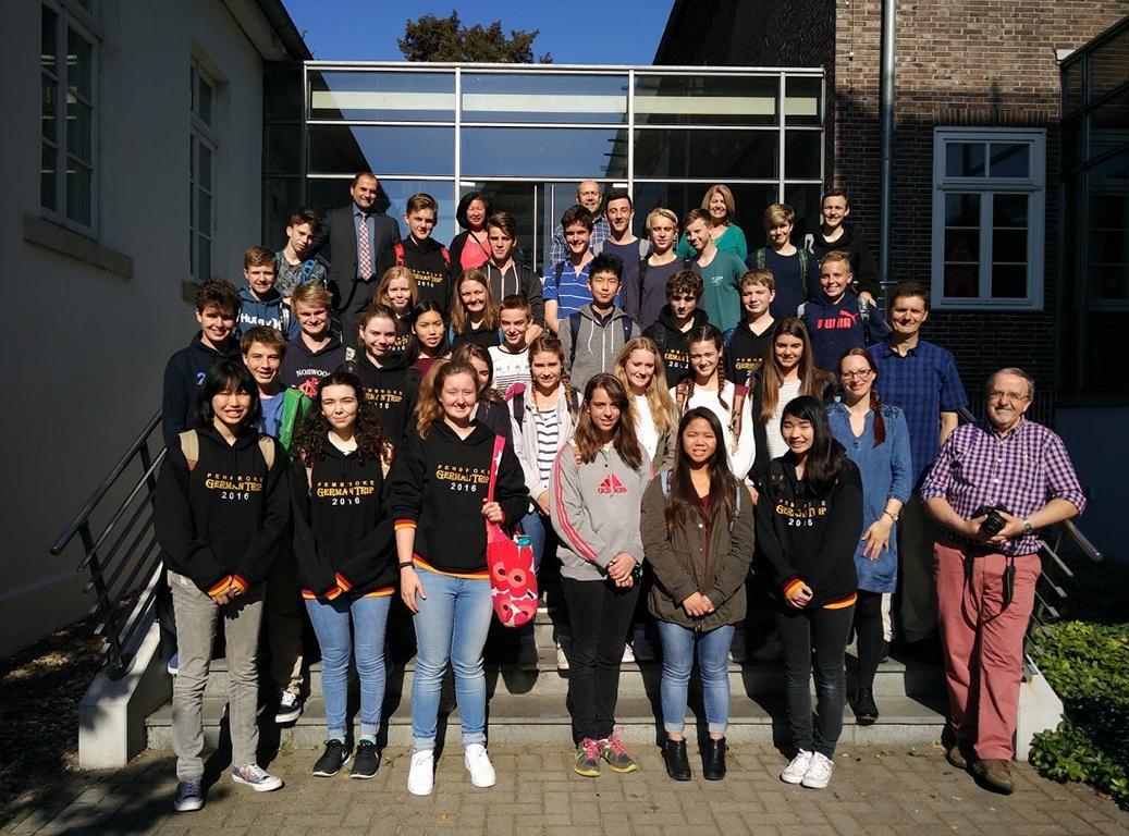 Besuch einer Gruppe der Pembroke School, Adelaide (Australien) vom 26.-30.9.16.