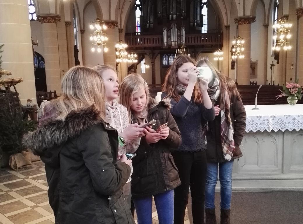 Mit dem Smartphone auf Entdeckungstour durch die St.-Marien-Kirche