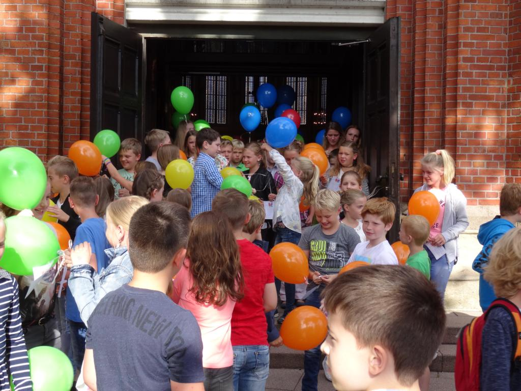 Einschulung unserer neuen Schülerinnen und Schüler