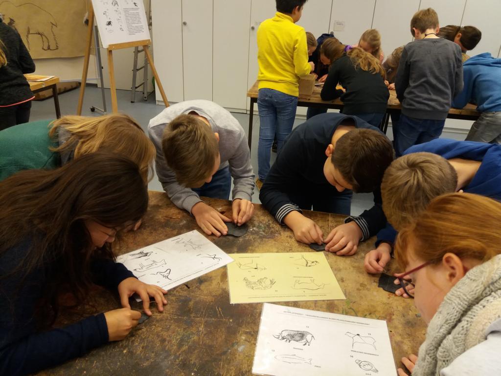 Ausflug zum Landesmuseum Oldenburg der Klassen 5