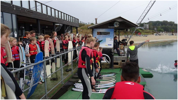 Wasserskispaß in Nethen für Wettbewerbsgewinner