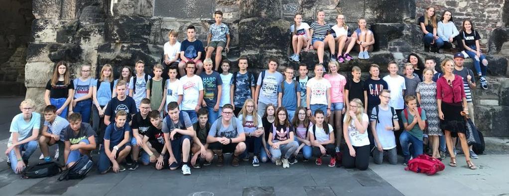 Eine Woche in Trier – Lateinfahrt der Klassen 8c und 8d