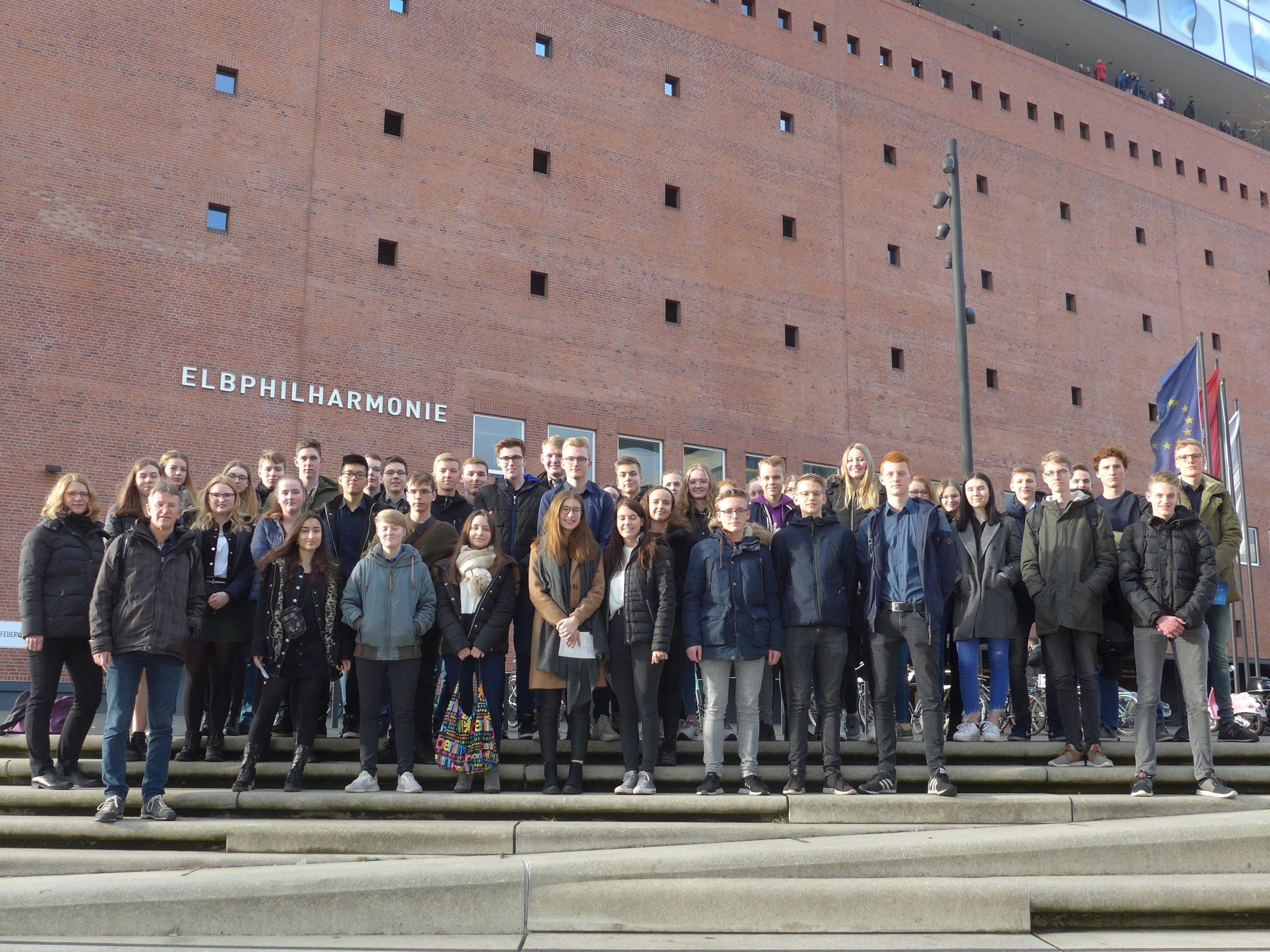 Musikkurse des AMG Friesoythe besuchten die Elbphilharmonie