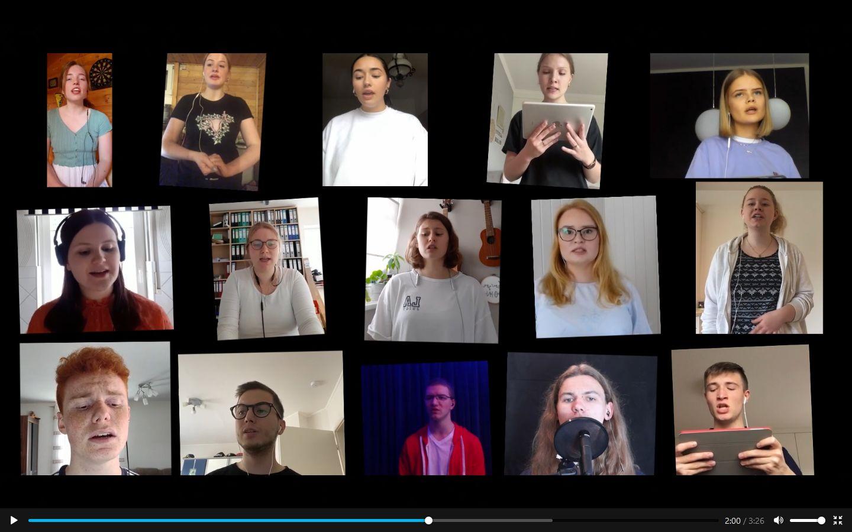 Musikvideo: Zusammen singen wir stärker!